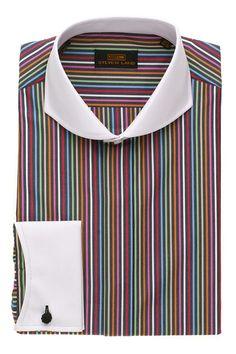 Steven Land Dress shirts  DS1266 | Black $69 #StevenLand #Style