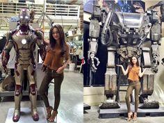 #AmyJackson as a Robot in #Enthiran2?