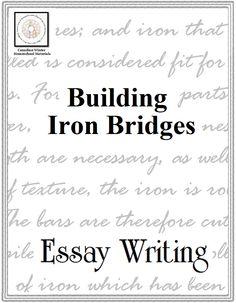 essay writing guide bing bang bongo method for writing essay writing building iron bridges canadian winter homeschool materials older readers essay