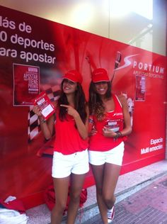 Nuestras azafatas de #Sportium #AurigaCoolMarketing #Eventos #Marketing  @Auriga Cool Mkt       Facebook: AurigaCoolMarketing