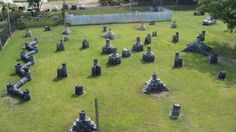 Fort Knox Paintball - Tire Field