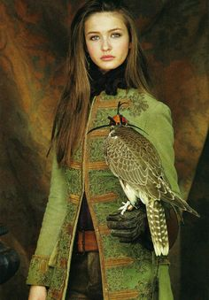 Must have coat AND falcon!