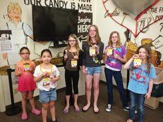 These #Cuties #Loving their #VIPTour of our #ChocolateFactory #KidInACandyStore #Glendale #Arizona #CerretaCandyCo