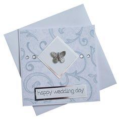Handmade Wedding Card £1.50