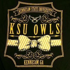 bfa7a6d48b8 Find more awesome KSU shirt designs like this at The General Bookstore.  Back pictured. Kennesaw StateUniversity ...