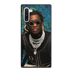 YOUNG THUG SLATT Samsung Galaxy Note 10 Case Cover  Vendor: Favocase Type: Samsung Galaxy Note 10 case Price: 14.90  This premium YOUNG THUG SLATT Samsung Galaxy Note10case will create premium style to yourSamsung Note10 phone. Materials are from durable hard plastic or silicone rubber cases available in black and white color. Our case makers customize and design each case in high resolution printing with best quality sublimation ink that protect the back sides and corners of phone from… Iphone 11 Pro Case, Iphone 7 Plus Cases, Iphone Case Covers, Iphone 6, Ipod Touch 6th Generation, Ipod Touch 6 Cases, Young Thug, Plus 8, Black And White Colour