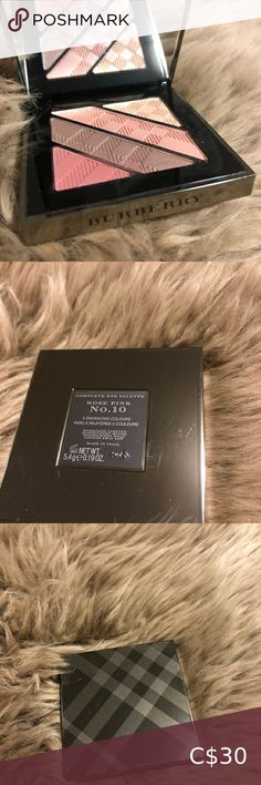 No 10 Rose Pink. Makeup Eyeshadow, Eyeshadow Palette, Burberry Makeup, Colorful Eyeshadow, Pink Roses, Cards Against Humanity, Cosmetics, Things To Sell, Color