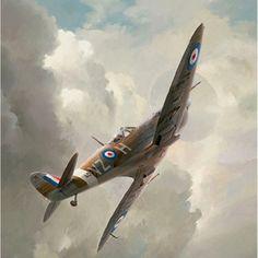 Brooks WW2 Aviation Art