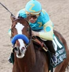 Just so you know, Bodemeister is going to take the Preakness today.