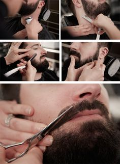 You must groom a beard! Free for all wildly hilly growth-- not cool, you just look homeless. I Love Beards, Great Beards, Mens Facial, Facial Hair, Sexy Beard, Beard Lover, Beard Grooming, Beard No Mustache, Beard Care