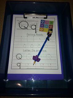 Letter Q Workboxes