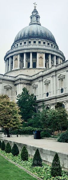 Sir Christopher Wren's masterpiece ~ St Paul's Cathedral, London, England