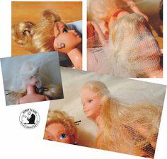 Ana Caldatto : Dica - Como Lavar e modelar o cabelo da Boneca Barbie