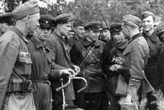 German and Soviet soldiers in Brest. September 20, 1939.  On August 23 Joachim von Ribbentrop arrived in Moscow to sign the infamous Molotov-Ribbentrop Pact. The document included a secret protocol about the partition of Poland. Early on September 17 Wacław Grzybowski, Polish ambassador in Warsaw, was informed that Soviet troops had entered Polish soil to...