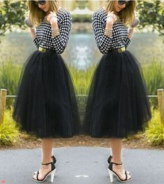 Bright Color Adult Tutu Skirt Korean,Beautiful Plus Size Women Skirts Pleated,5…