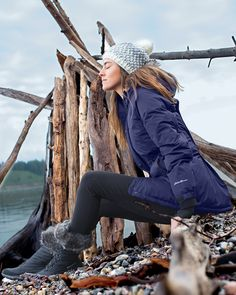 Women's Superior Down Parka | Complete weather protection, from heavy rain to freezing snow. Exceptional warmth without weight or bulk.