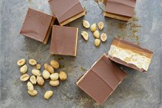 If you like Snickers as much as we do, you're going to love this Homemade Snickers Bars Recipe By Sweet Society