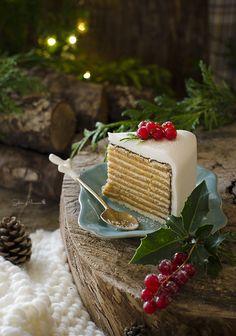 Christmas Fondant Cake.