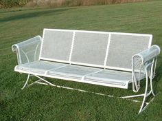 vintage wrought iron mesh patio furniture by divainthedell on etsy 29500 antique rod iron patio