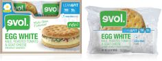 Learn more about these amazing low calorie breakfast sandwiches at LaaLoosh.com! Evol. has revolutionized convenient, ready-made breakfast meals with their new products. 4-5pp