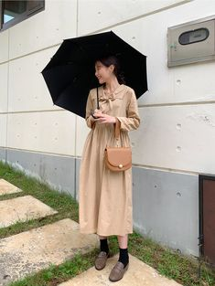 Korean Dress, Cambridge Satchel, Asian Style, Bags, Outfits, Dresses, Fashion, Handbags, Vestidos