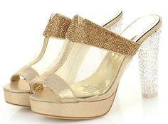 Coolcept Fashion High Heel Buckle Strap Sandal - 2 Colors | Stylish Beth