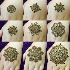 Tutorial Create Henna Design - 20 Best Easy Mehndi Design Step by Step Tutorial Images. The best tutorial step by step to create Henna design for beginner Henna Mehndi, Henna Tattoos, Henna Tattoo Muster, Simple Henna Tattoo, Mehndi Simple, Henna Tattoo Designs, Indian Henna, Henna Mandala, Mandala Tattoo