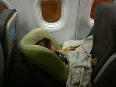 The Car Seat Lady: Airplanes.  This site has been an absolute lifesaver!  It tells you everything you need to know about car seats, including how to travel with them on airplanes!  Invaluable for families who make overseas trips!