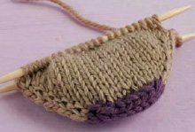 On Your Toes: A New Cast-On - Knitting Daily - Blogs - Knitting Daily for squarer toes.