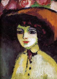 Kees van Dongen: La Parisienne de Montmartre - 1907-1910 - Private Collection Charles-Auguste Marrande, legacy Musée du Havre