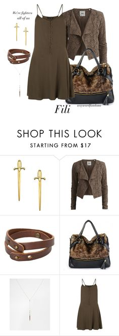 """Fili"" by waywardfandoms ❤ liked on Polyvore featuring A.V. Max, Object Collectors Item, MANGO, ASOS, TheHobbit and fili"