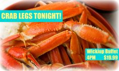Crab Legs on Fridays at the Wickiup Buffet at Apache Gold Casino & Resort!