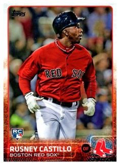 2014 Topps Rusney Castillo Rookie Card Boston Red Sox