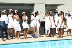 You can't go wrong with white Shower. White Baby Showers, White Dress, Coat, Jackets, Dresses, Fashion, Down Jackets, Vestidos, Moda