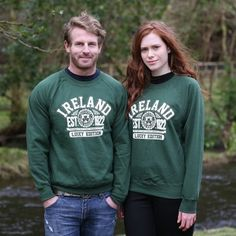 Green Republic Of Ireland Sweatshirt