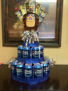Since Hes Not A Fan Of Cake Heres Great Idea If He Drinks Birthday Beer His Favorite