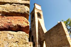 Brick by brick - When the sun warms your steps, one after another, brick by brick... Fiorenzuola di Focara, Marche, Italy