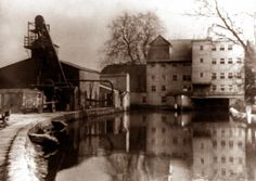 Sonning Mill, which used to supply flour to Huntley and Palmer's Biscuit Factory