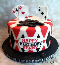 A Magic Themed Cake For Colby Happy Birthday Sweet