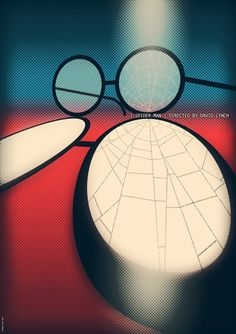 idosiris:  David Lynch Spiderman Poster Redisgned - By: Fernando Lucas
