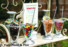 Celebrate the end of the school year with an updated ice cream social at a School's Out Party.