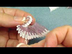Пришиваем лепестки к кристаллу - YouTube
