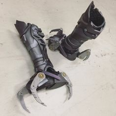 Items similar to Vulture Spiderman Homecoming leg/claws ( cosplay, halloween, comiccon, costume ) on Etsy