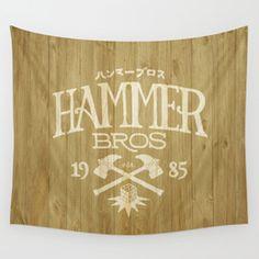 popular hammer Wall Tapestry | Society6