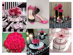 pink and black weddings - Bing Images