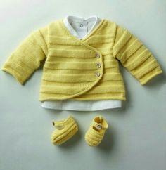 Saco tejido bebé