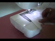 Como coser pretina a pantalon o short  COS