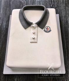 Moncler Shirt Cake. Shirt Cake. Boys Birthday Cake