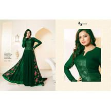967207f4e Om Silk Mills Presents Exclusive Special Green Colour Anarkali Suit  Pakistani Dresses, Pakistani Salwar Kameez
