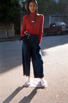 Pant genius Delfina Balda does it again with the Ceres Pant.High waist, wide leg ...